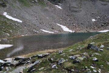 Al Lago d'Arpisson, scendendo a Valpeline