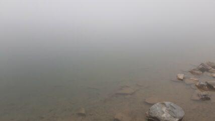 E' il Lago del Mucrone visto dalla sponda