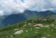 Dopo poco in vetta al Monte Rosso, sul Mombarone arriva la nuvolosità