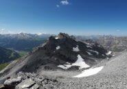 La cresta del Monte Reit da cui si proviene