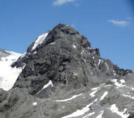 Il Cristallo con la cresta ovest sulla destra
