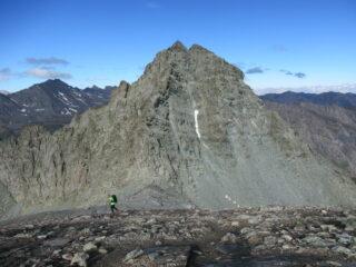 Il Monte Granero (m.3171) dal Monte Meidassa (m.3107)