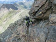 Tratto di cresta per le Rocce Fourion
