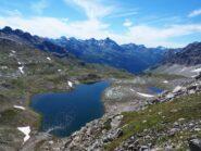 Il Gran Lago nel Vallone delle Cime Bianche.