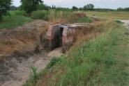 Paratie per la distribuzione dell'acqua nelle marcite presso la Strada dei Ronchi