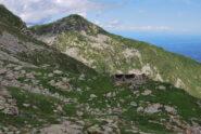 Scendendo a Oropa sul D21, i ruderi dell'Alpe Camino