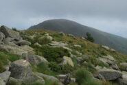 In vista del Monte Cucco, con un po' di ritorno alla visibilità