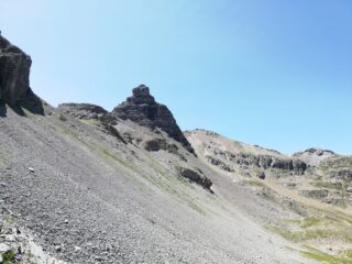 Bonnet carrè dal sentiero verso la Pelousette