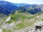 Camp des Fourches dalla cima