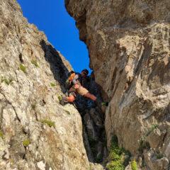 Camino sotto la cima Borello