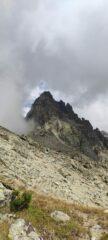 La Rocca tra le nubi
