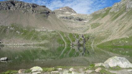 Lac Palluel (2472m) e cima