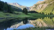 il laghetto di Bout du Col e la Gran Guglia