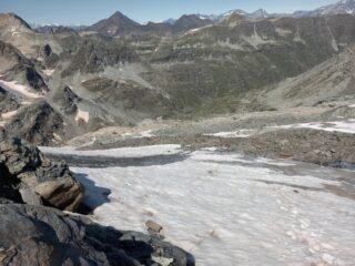 Nevaio prima del ghiacciaio
