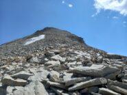 Cresta verso la cima