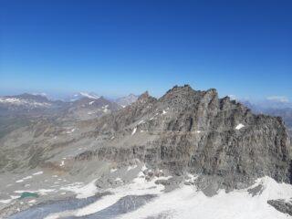 Levanna Centrale vista dalla cima dell'Orientale.