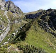 Dal Colle Teina, colle di Costa Fiorita e punta omonima.