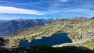 panoramica poco sopra il lago