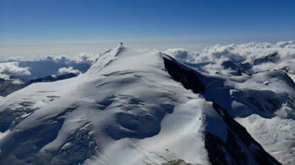 Lo Strahlorn visto dalla cima