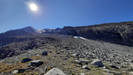 Glaciere de Charbonnel dalla