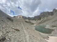 Dal lac Rouge la cima