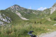 dalla cava del marmo vista su Monte Verzegnis