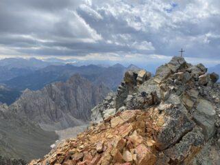 Panorama di vetta verso sud