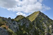 Antecima 2299 vista dalla cresta