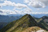 Cima 2301 e cresta tra le due cime