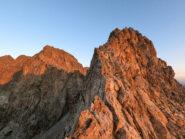 L'inizio della traversata che porta alla cima Borello