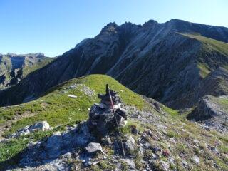 l'uscita del canale dal monte Eighier