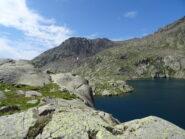 Becas del Corborant e lago Lausfer da zona pranzo