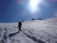 Risalendo il Glaciere de Charbonnel