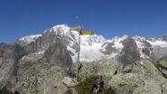 Al bivio appare il Monte Bianco