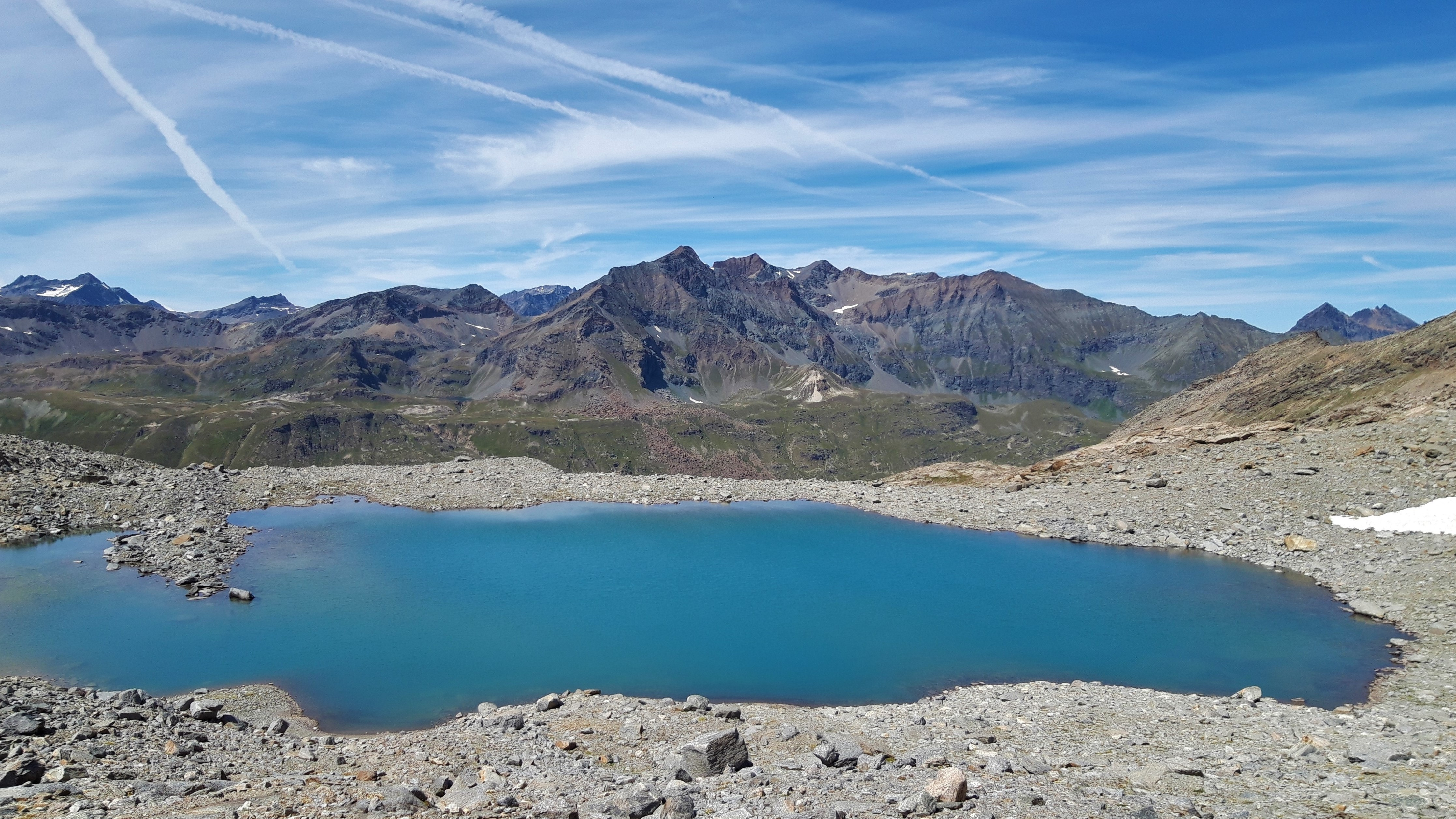 bellissimo lago (senza nome) nel vallone di Ferauda