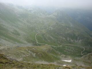rifugio Tournalin dall'alto