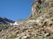 Mont Rous visto dallo sperone