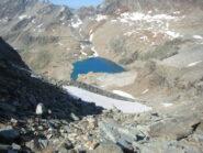 discesa dal colle Vofrede verso il Gran Lago