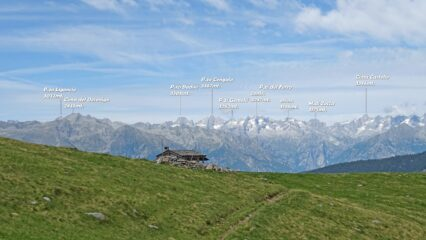 Alpe Vesenda Alta 1860mt.