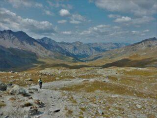 Nel bellissimo vallone dell'Aigue Blanche.