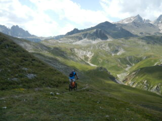 il bel tratto verso il Colle della Valle Stretta