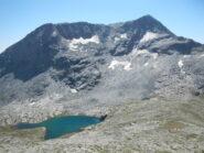 Lago Bianco e Monte Giusalet