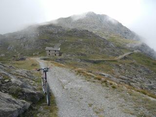 in vista della Cima Ciantiplagna 2849 m.