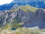il lago degli Alberghi dalla cima