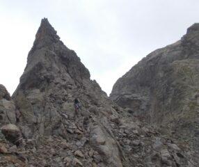 la cima sud di Schiantalà