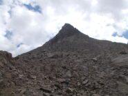 la cima nord dal versante ovest