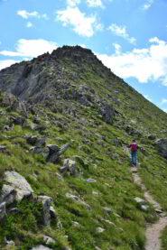 La cresta NO della Rocca