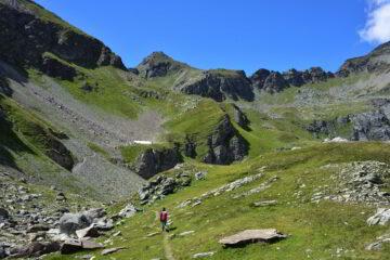 Sentiero tra Colle di Vascoccia e Col de Nana