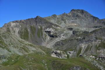Il Bec de Nana dal Col des Fontaines