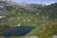 Lago Tormotta visto scendendo dal Tormotta